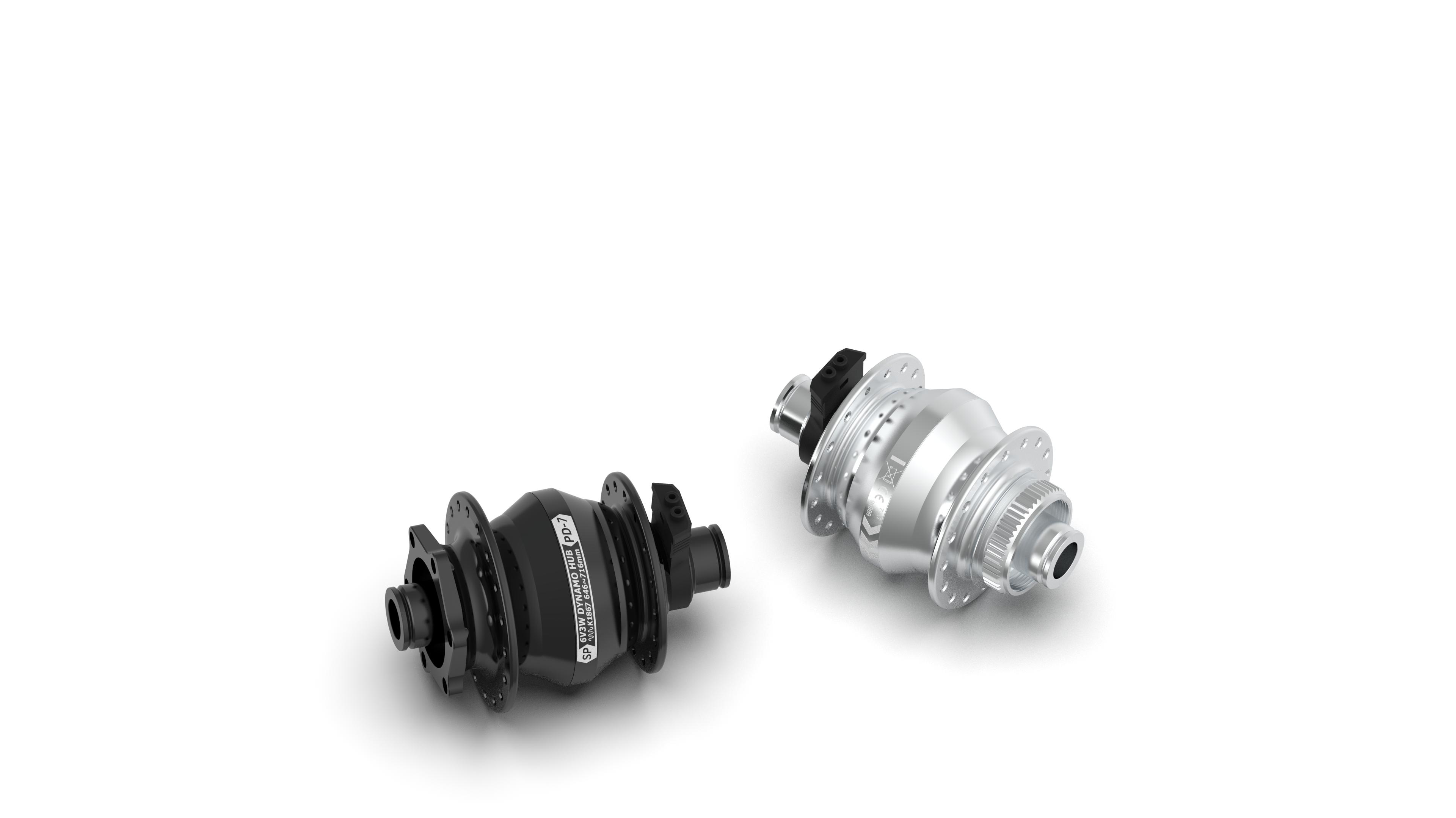 hub dynamo SP PL-7 Centerlock QR12 dynohub Shutter Precision